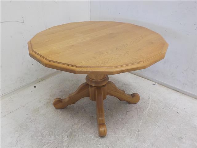 Ronde houten eettafel de goede winkel