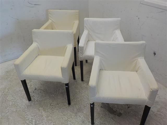 4 Witte Eetstoelen.Set Van 4 Witte Stoelen De Goede Winkel
