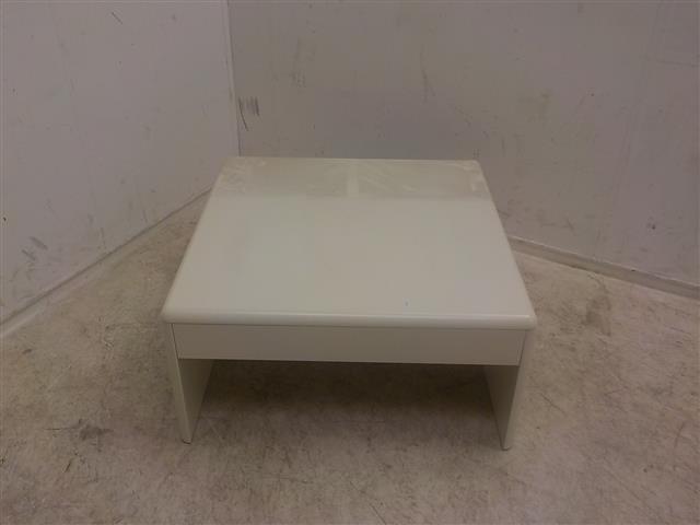 Wit houten salontafel vierkant de goede winkel