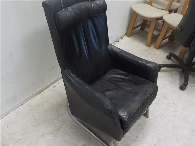 Zwarte Leren Relaxstoel.Fauteuils Categorieen De Goede Winkel