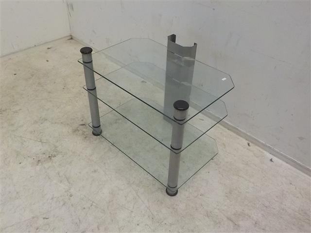 Glazen Tv Meubel Met Kabelgoot.Glazen Tv Meubel De Goede Winkel